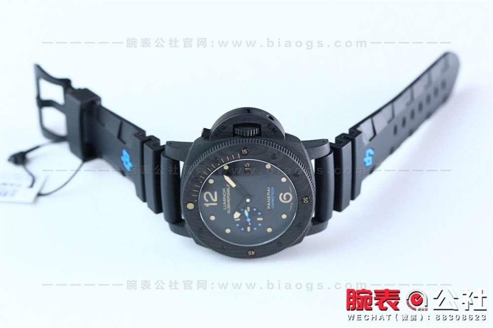 硬汉专属完美乱真:VS厂沛纳海616碳纤维复刻表评测-腕表公社