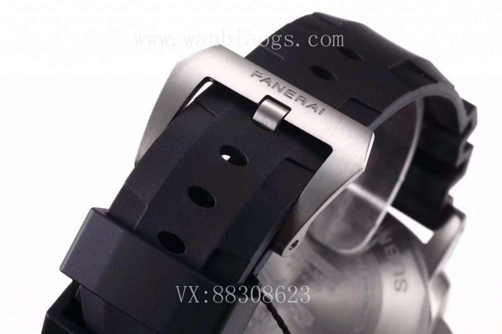 VS厂沛纳海799复刻表评测—VS厂沛纳海799碳纤维外圈钛金属对比正品如何