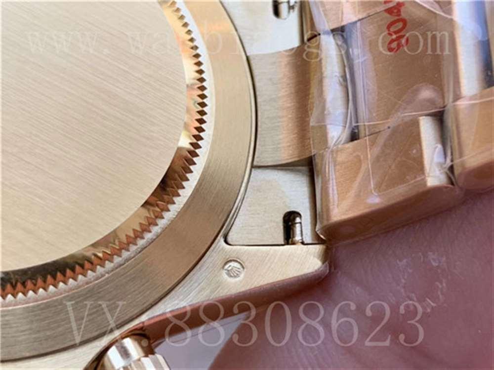 N厂劳力士绿金迪腕表评测「4130机芯」N厂绿金迪对比AR厂那个好