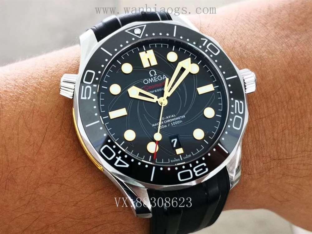 VS最美007:VS厂欧米茄海马300米007詹姆斯邦德限量款评测对比
