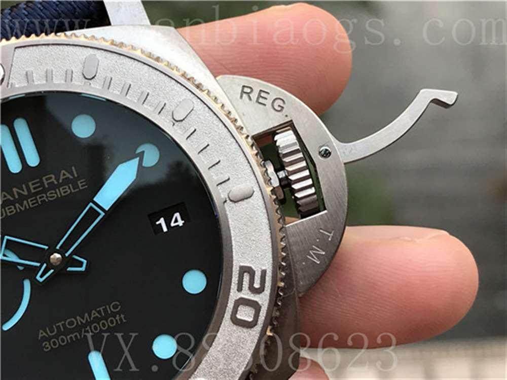 VS厂沛纳海985迈克·霍恩特别版腕表「P.9010机芯」VS厂PAM985复刻表评测