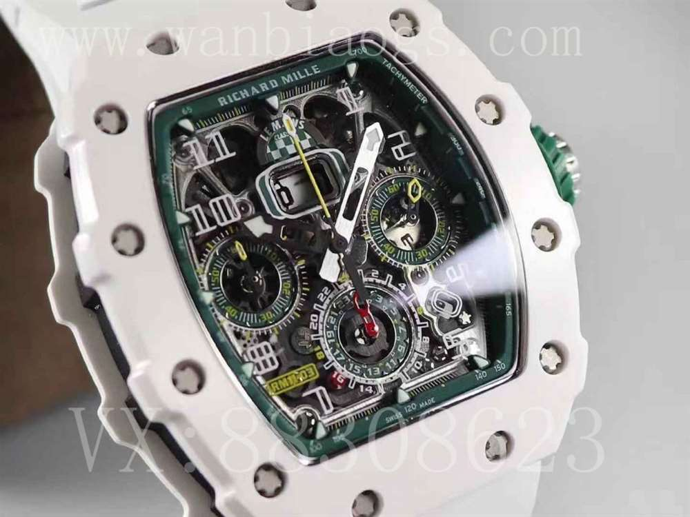 KV台湾厂理查德米勒陶瓷款经典赛车腕表新品评测