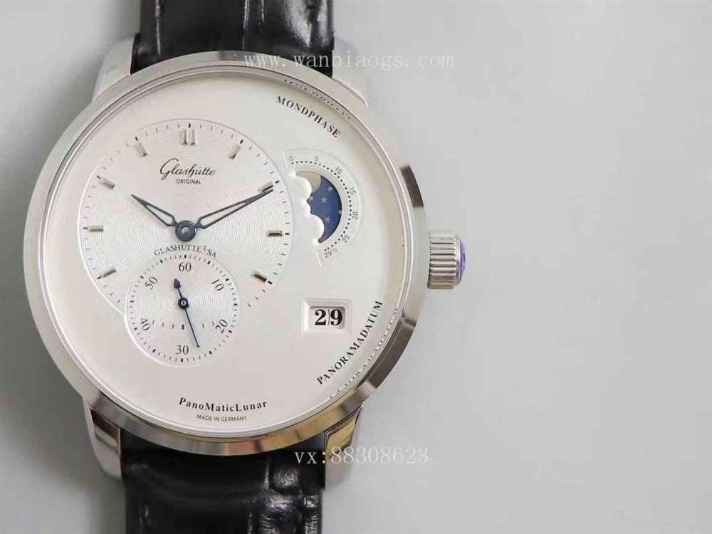 TW厂格拉苏蒂原创偏心系列腕表评测对比