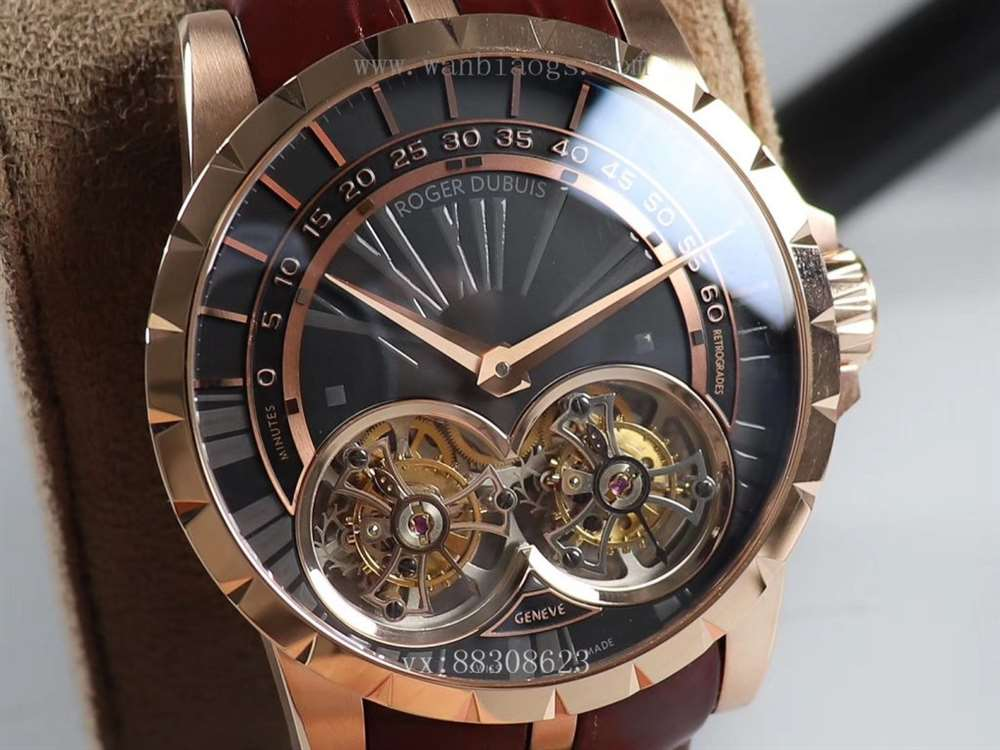 BBR厂罗杰杜彼双陀飞轮超级腕表—震撼发布