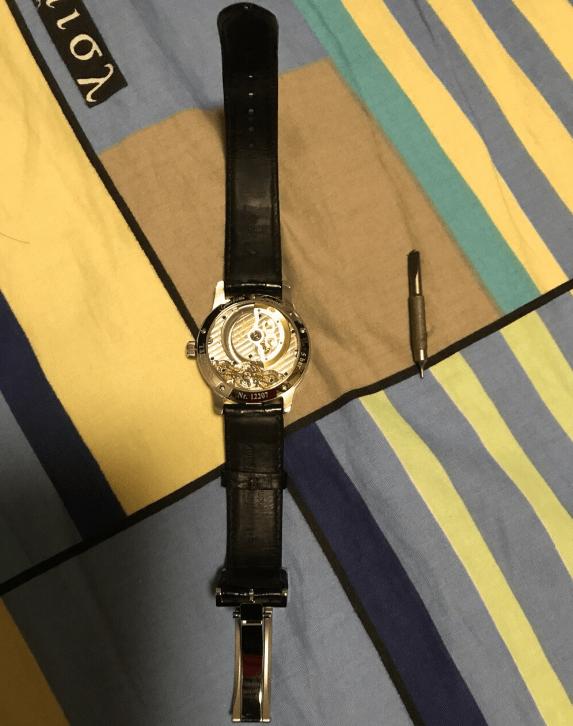 TZ厂原创偏心系列1-90-02款腕表-手腕上的德国BBA