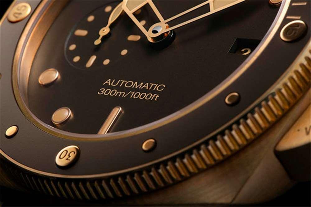 VS厂沛纳海968-新款青铜腕表鉴赏