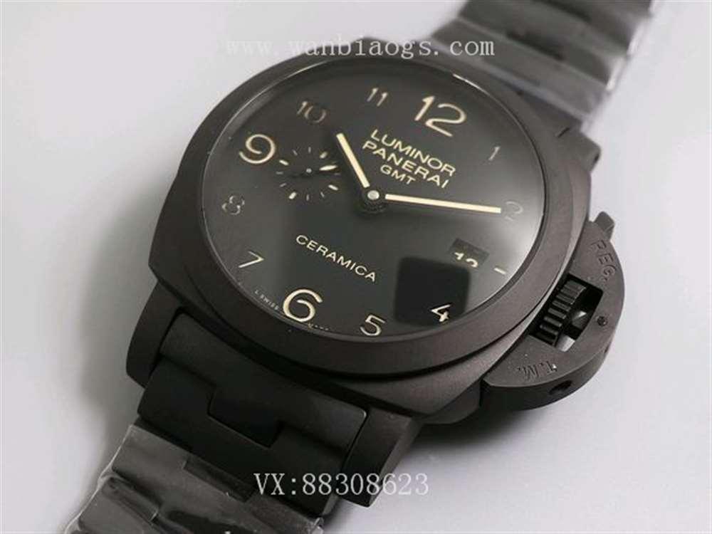 全黑陶瓷腕表VS厂V2版沛纳海438评测对比
