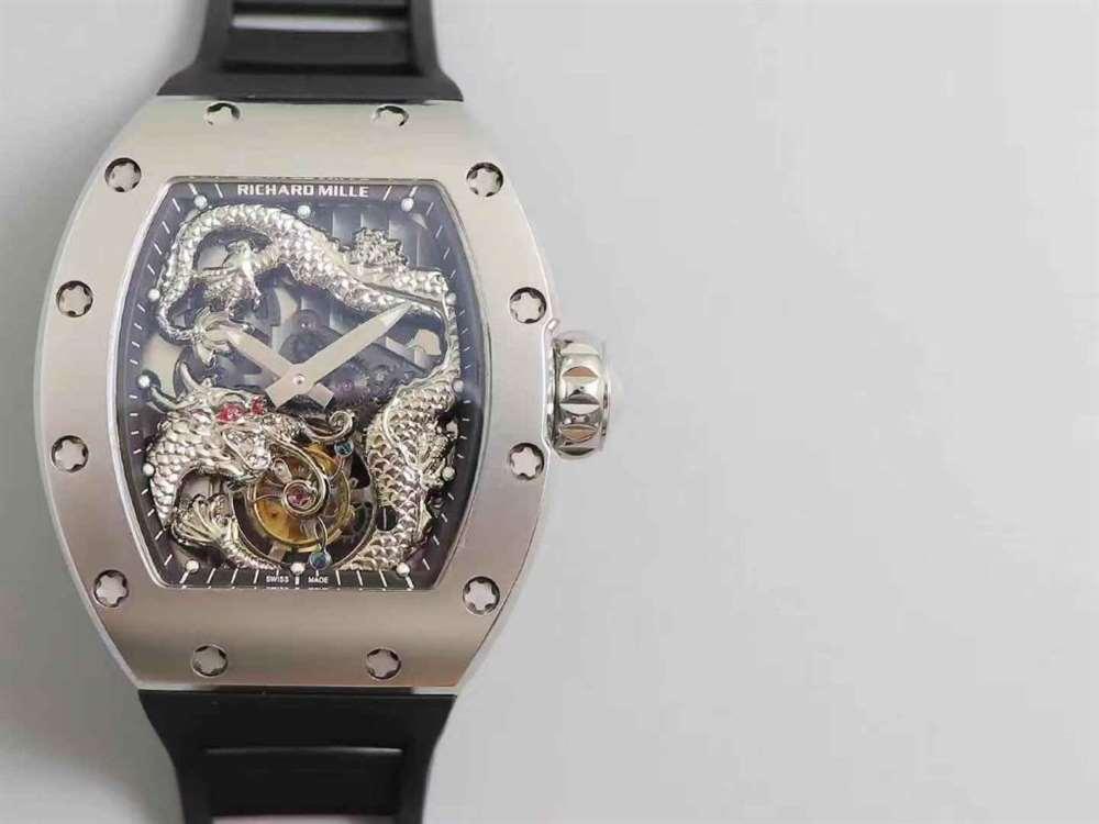 TW厂理查德米勒RM057成龙盘龙陀飞轮腕表!
