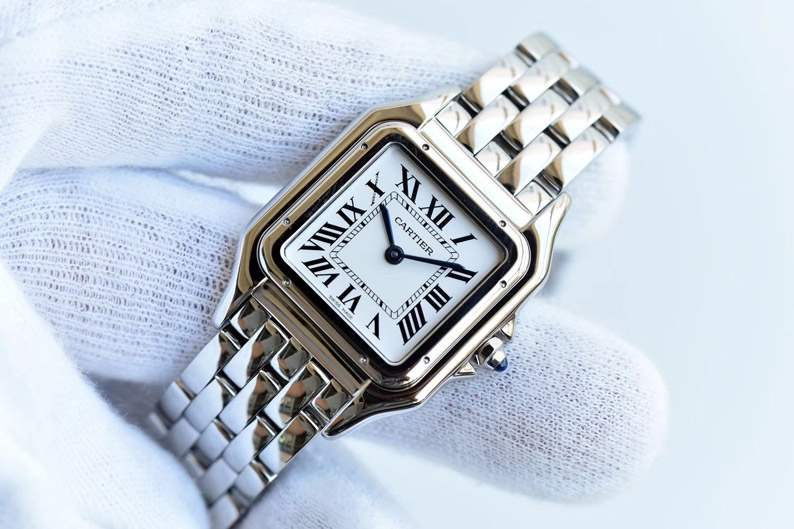 GF厂卡地亚猎豹系列WSPN0007女士腕表对比评测