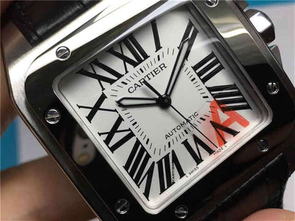 KZ卡地亚山度士桑托斯系列腕表评测-对比正品如何?