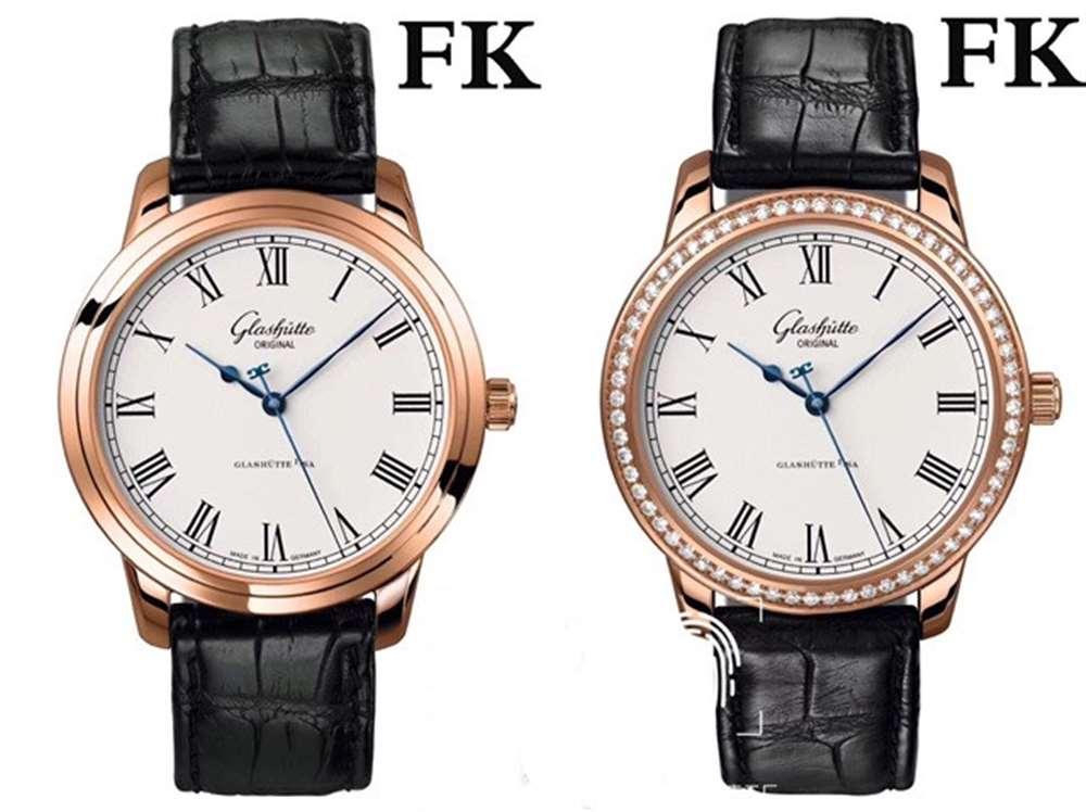 FK厂格拉苏蒂参议员「v5版」腕表评测对比