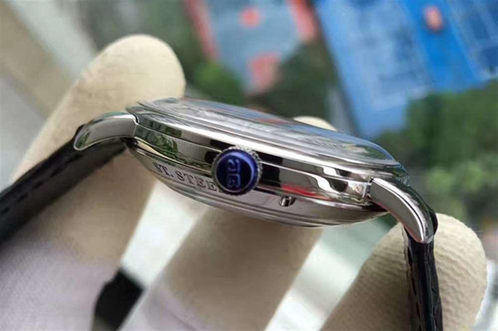 GF厂格拉苏蒂原创复古系列白盘腕表评测-会不会一眼假?