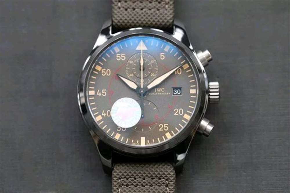 ZF厂万国陶瓷飞行员系列IW389002腕表评测—对比正品做工怎么样?