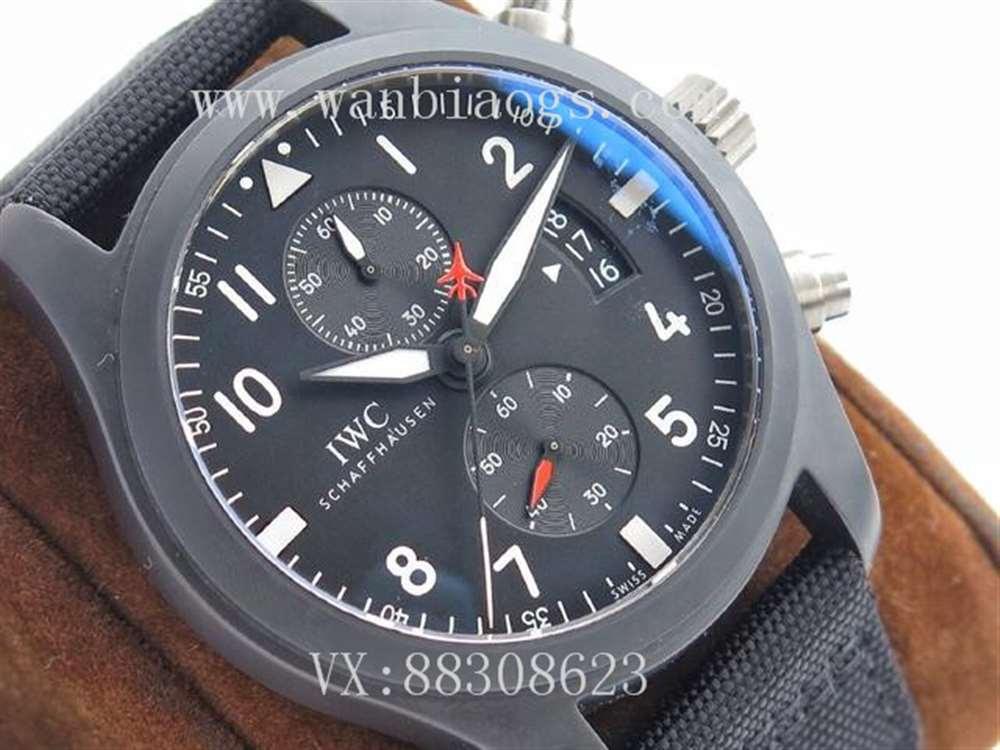 ZF厂万国飞行员系列IW389001腕表评测-TOPGUN海军空战部队计时腕表