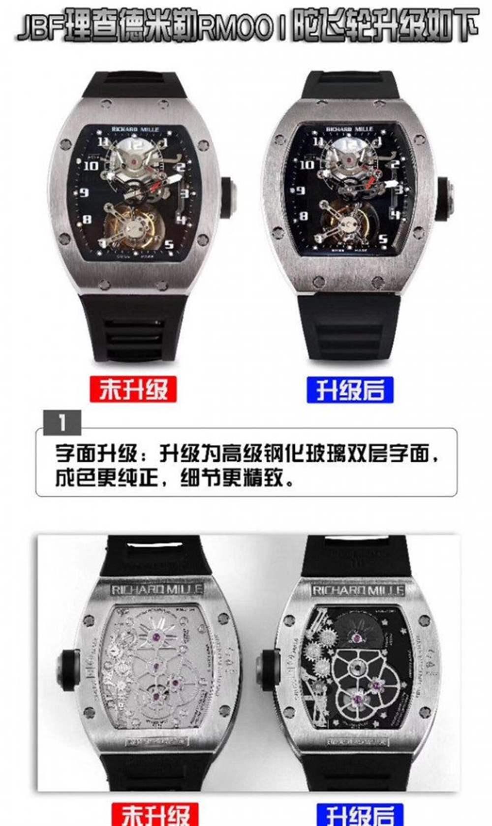 JB厂罗杰杜彼RM001真陀飞轮腕表升级解读