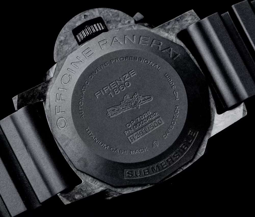XF厂沛纳海616锻造碳纤维限量版评测