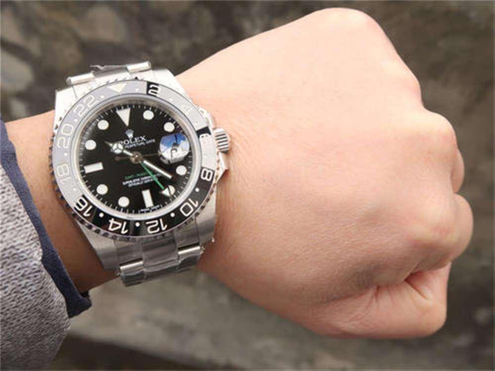 劳力士格林尼治手表时间如何调整?GMT两地时