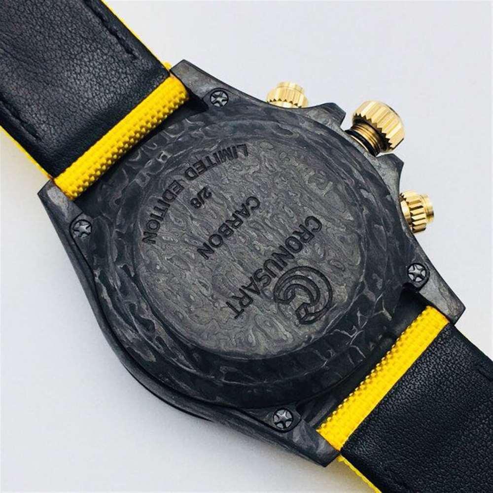 WWF厂劳力士迪通拿碳纤维腕表做工评测