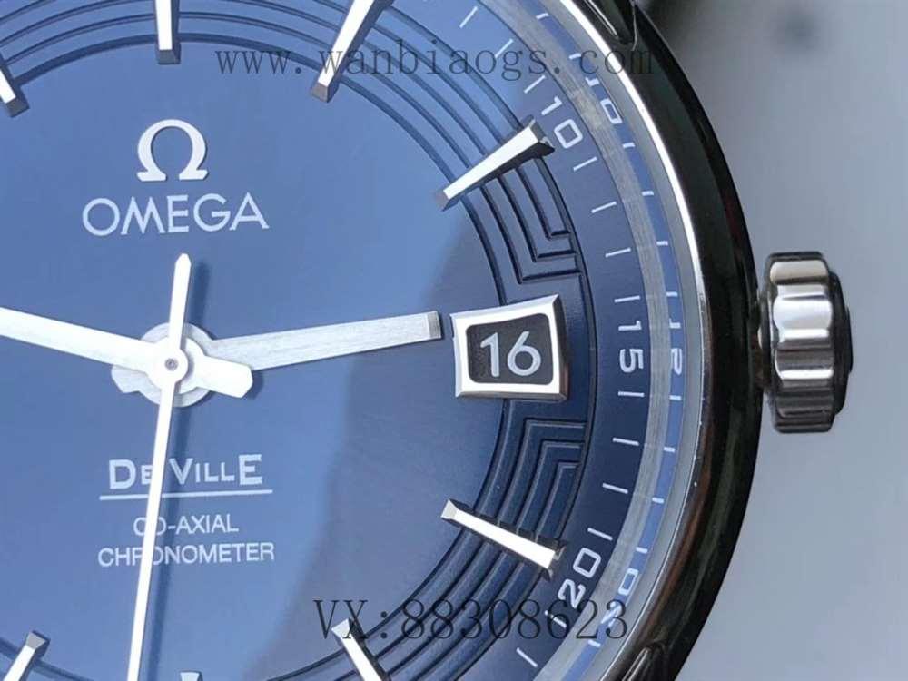 VS厂欧米茄明亮之蓝复刻表「8500机芯」做工评测