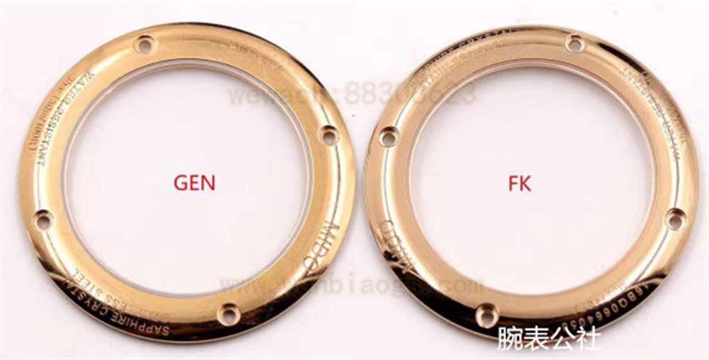 FK厂美度贝伦赛丽系列M027.407玫瑰金复刻表对比正品评测