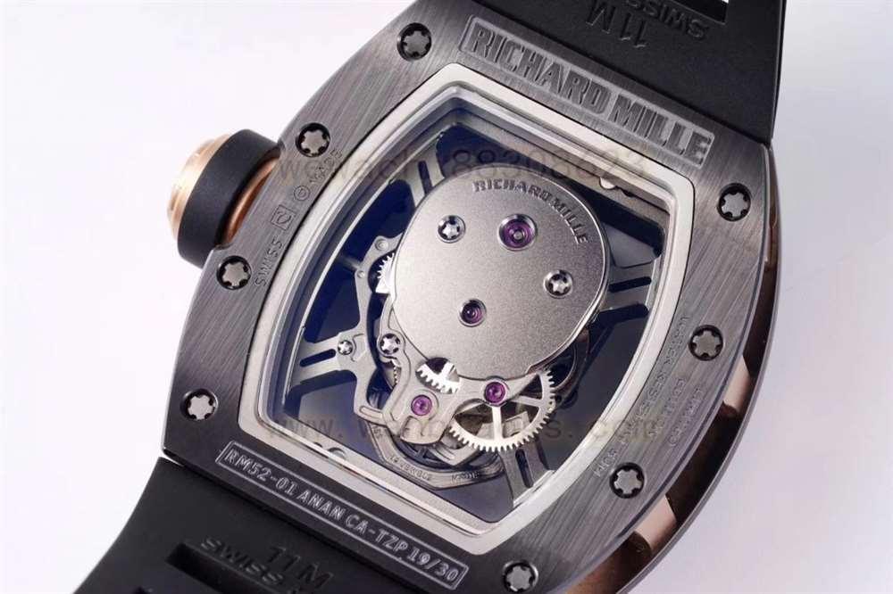 ZF厂理查德米勒RM052黑陶瓷版本深度评测
