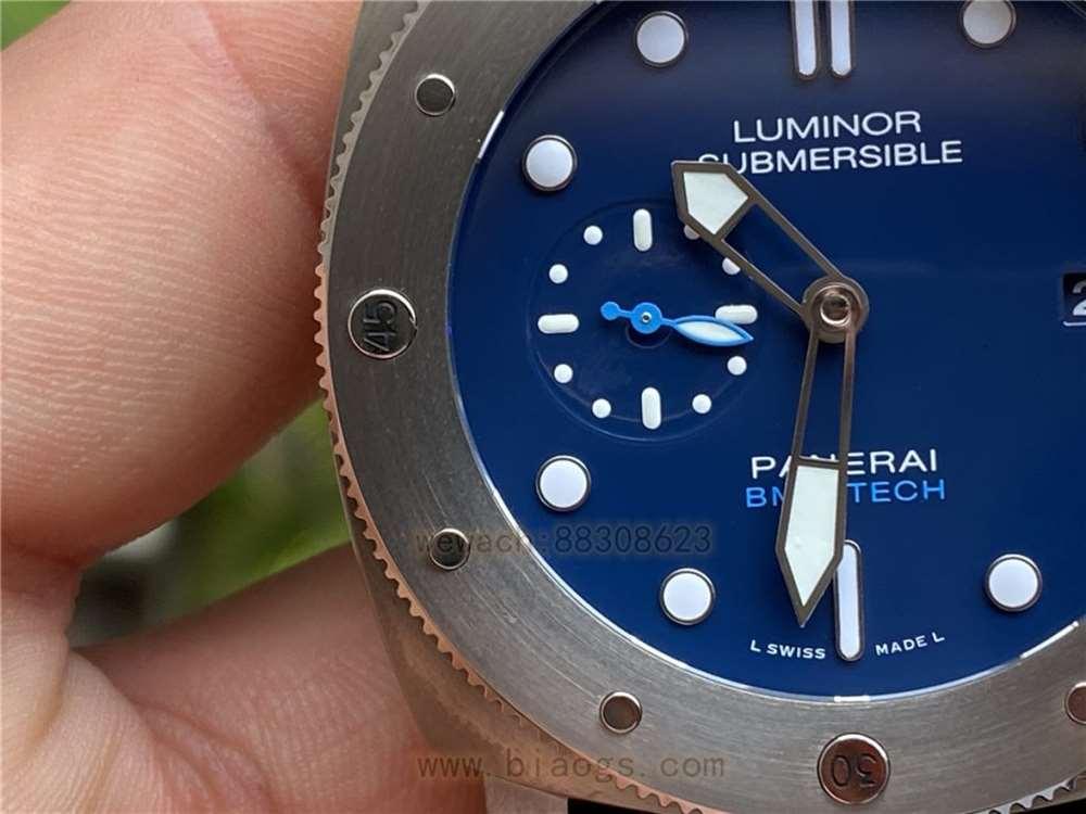 VS厂沛纳海692复刻表深度做工评测-实拍展示