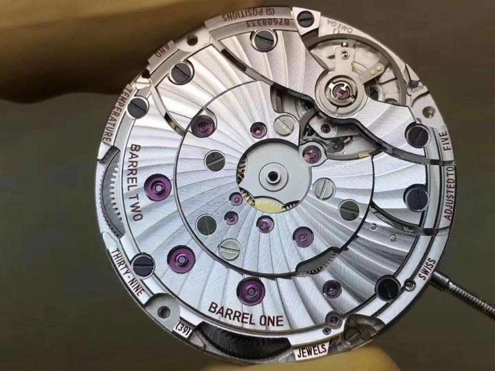 VS厂欧米茄星座8500机芯做工评测