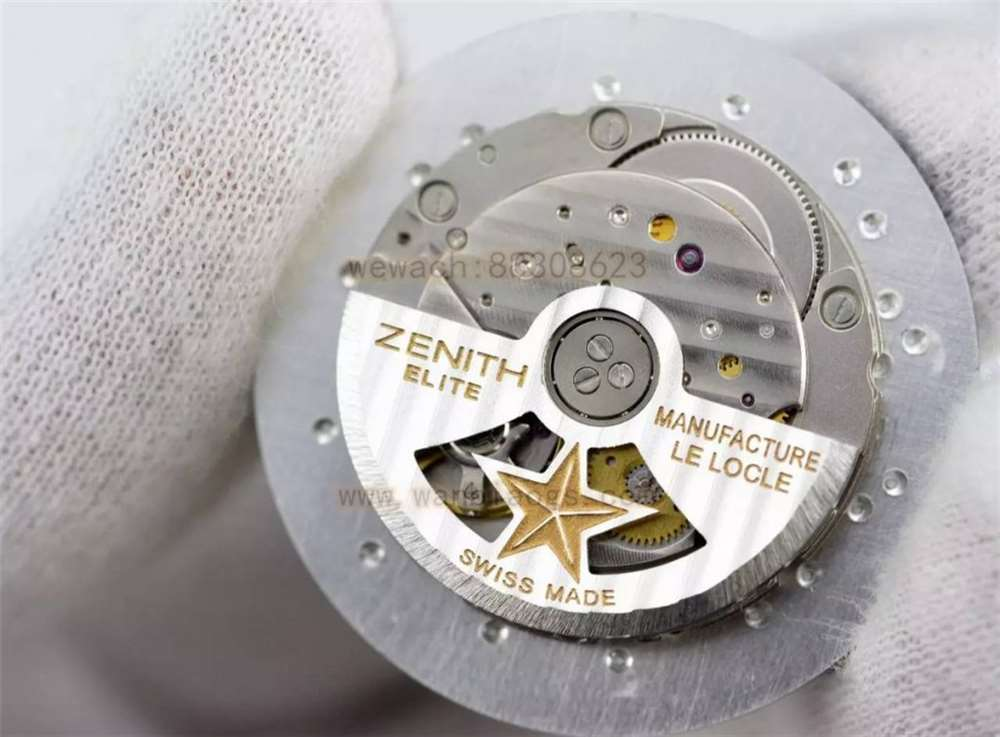 XF厂真力时大飞复刻表做工评测-40毫米复古硬汉神器