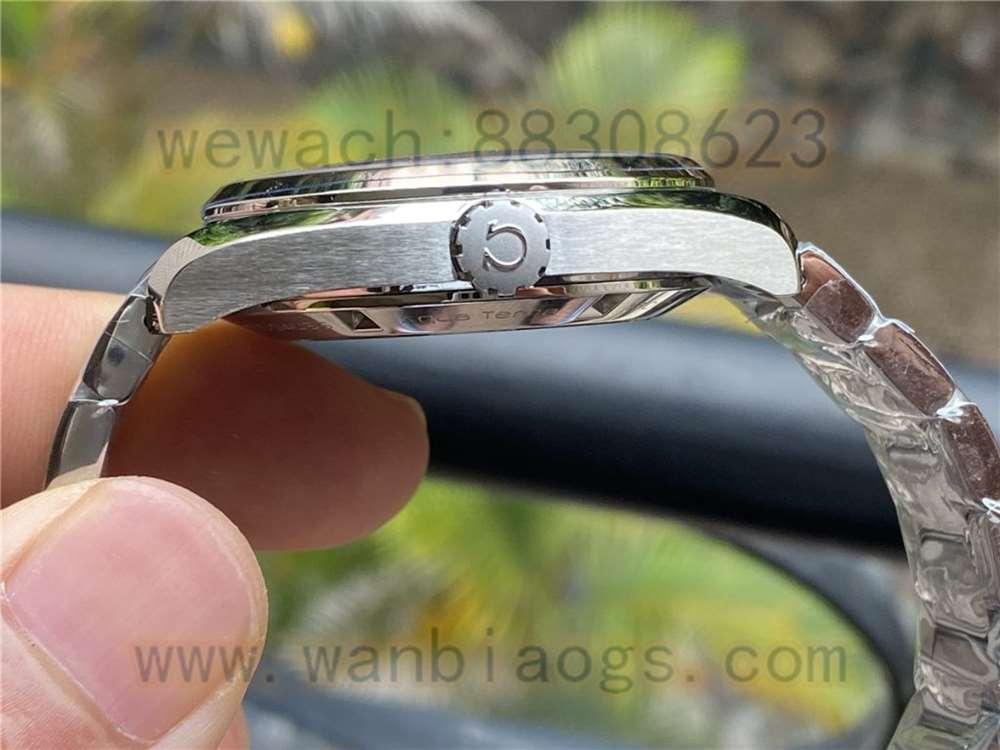 VS厂欧米茄海马150里约波浪白盘复刻表实拍细节评测