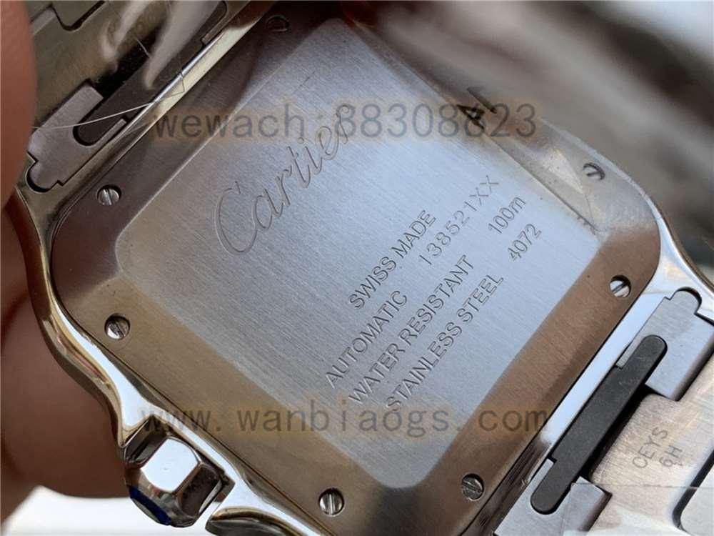 V6厂卡地亚山度士WSSA0009复刻表做工评测