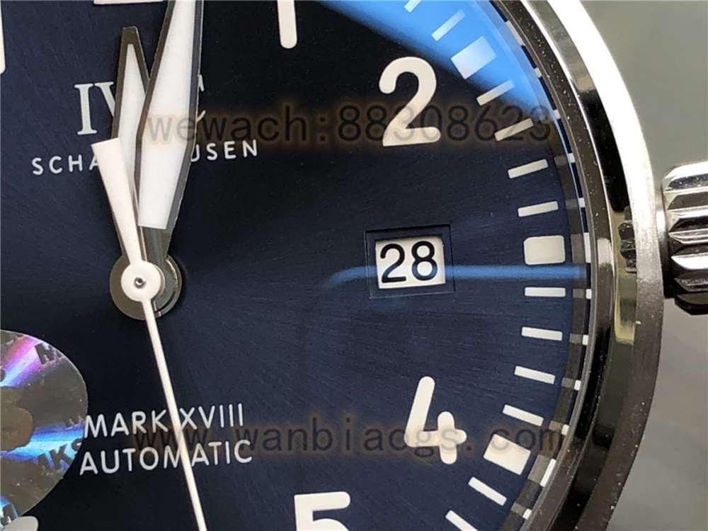 MKS厂万国马克18复刻表对比正品评测-实拍展示