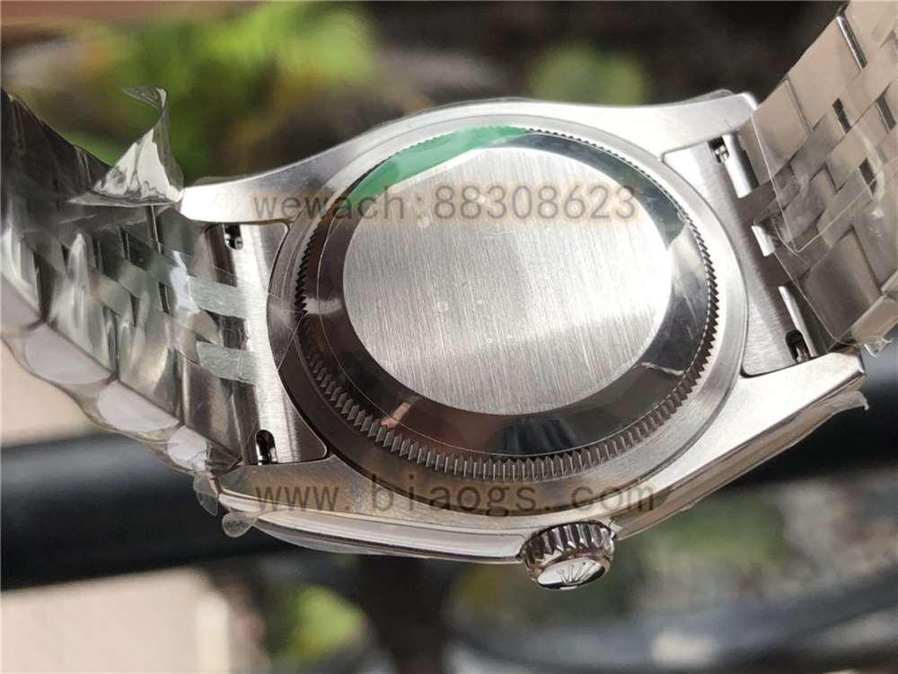 AR厂劳力士V3版日志116234蓝盘复刻表做工评测-实拍展示