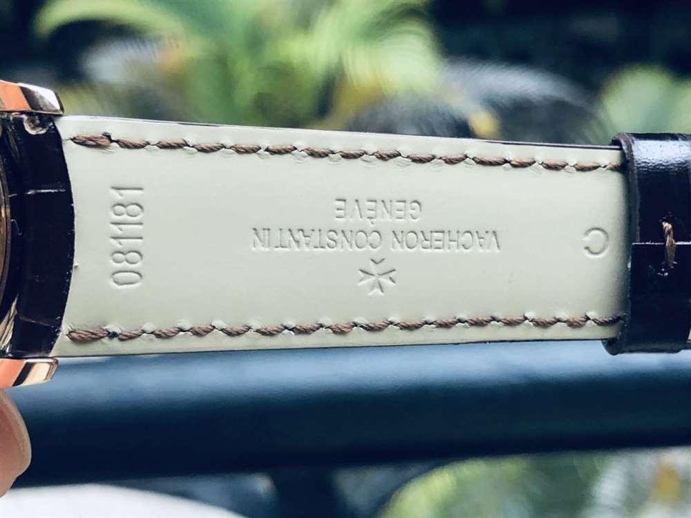 MKS厂江诗丹顿传承玫瑰金复刻表V2版做工评测-实拍展示