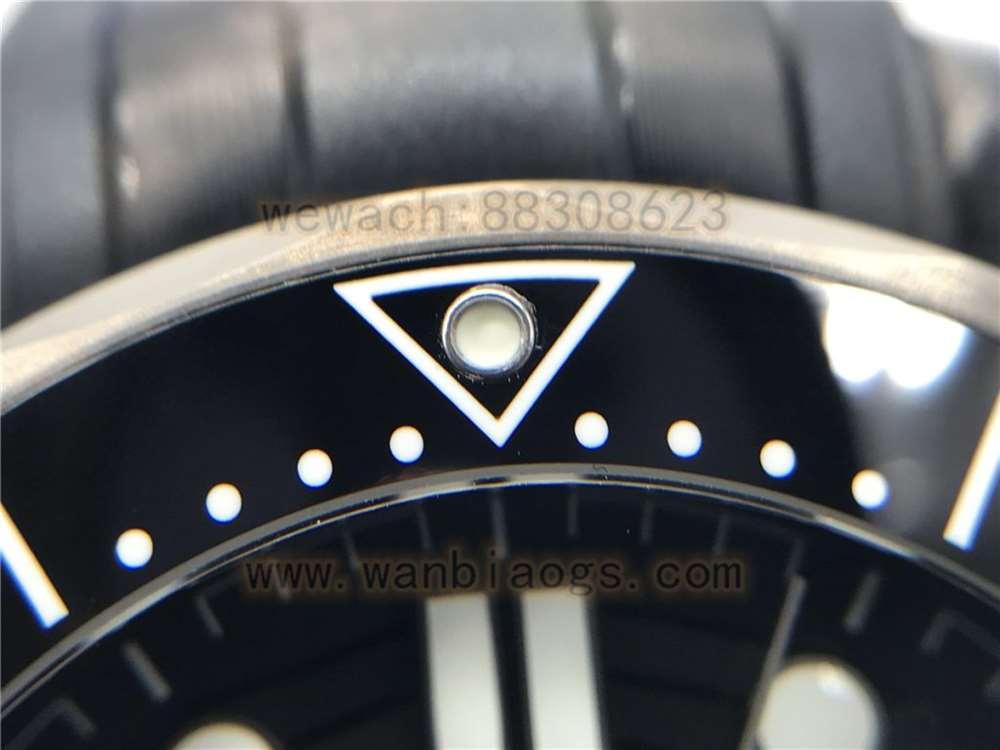 VS厂欧米茄陶瓷海马300黑暗骑士复刻表做工评测-实拍展示