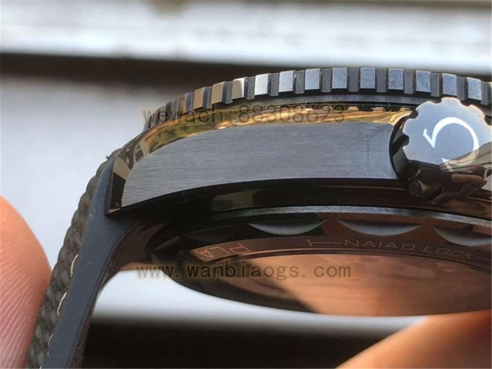 VS厂欧米茄深海之黑复刻表做工评测-实拍展示