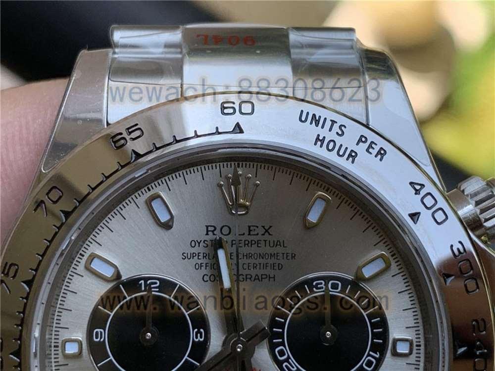 N厂劳力士迪通拿116509灰盘复刻表做工评测-实拍展示