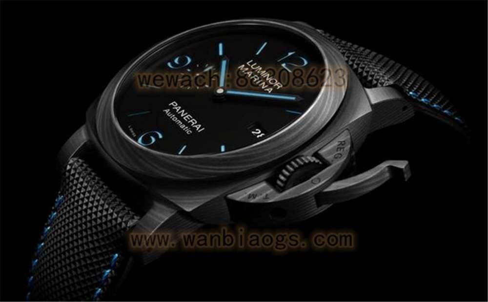 VS厂沛纳海1661「全新庐米诺系列碳纤维」44mm轻量化腕表