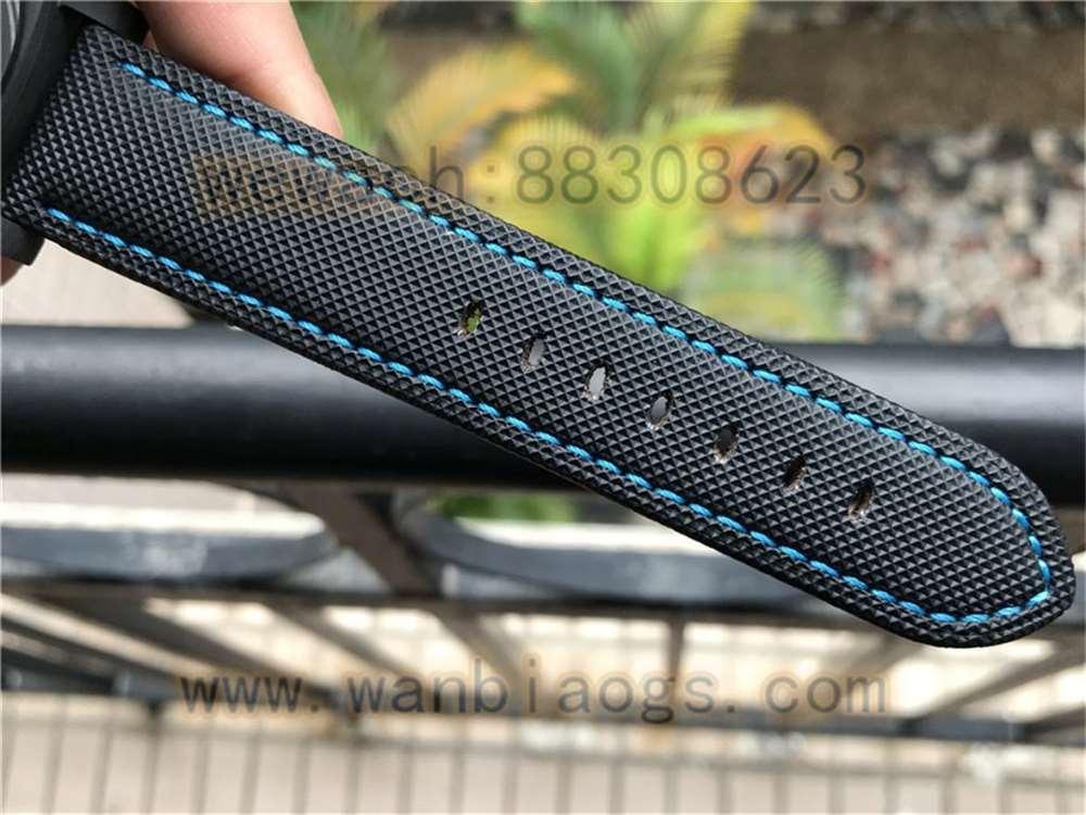 VS厂沛纳海1661「44毫米蓝色指针时标」实拍评测
