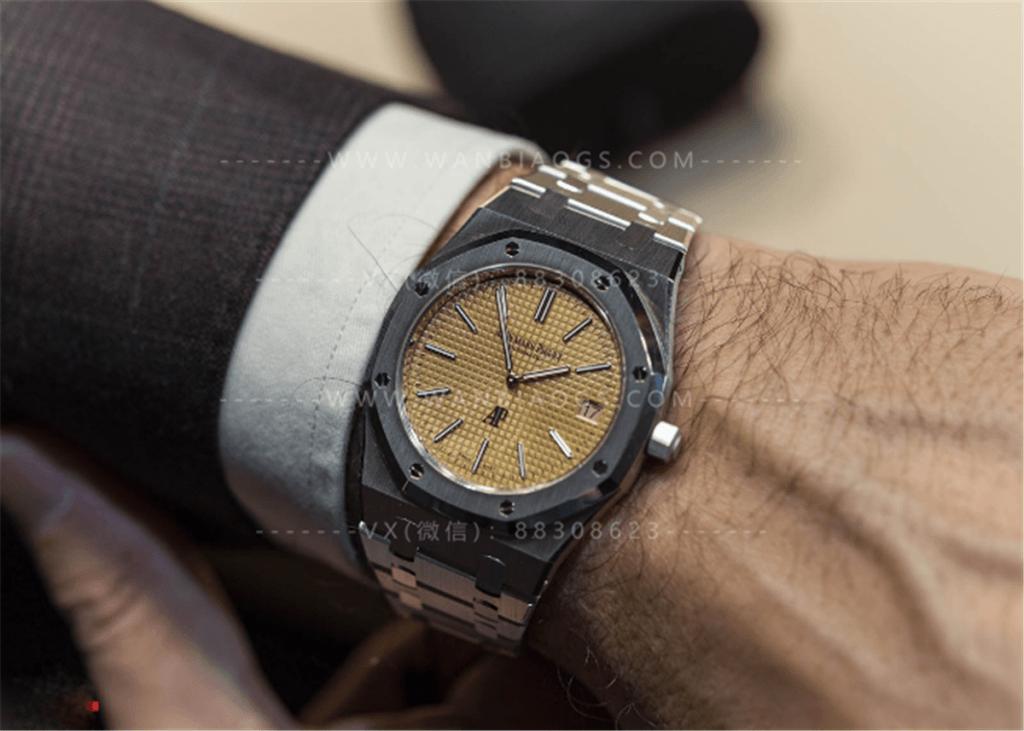 XF厂爱彼15202「香槟金盘」超薄腕表深度评测