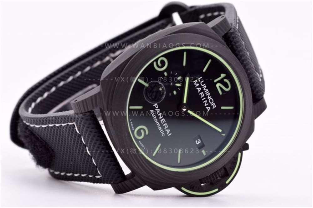 VS厂沛纳海1118「碳纤维」超级全夜光腕表评测