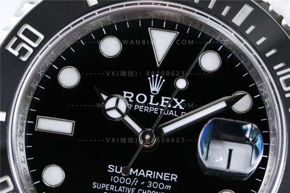 RXF厂SUB黑水鬼震撼来袭-对比正品以及市面版本深度评测