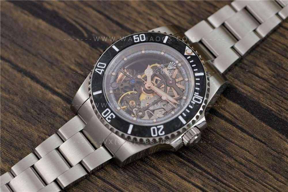 WWF厂劳力士潜航者镂空水鬼深度评测