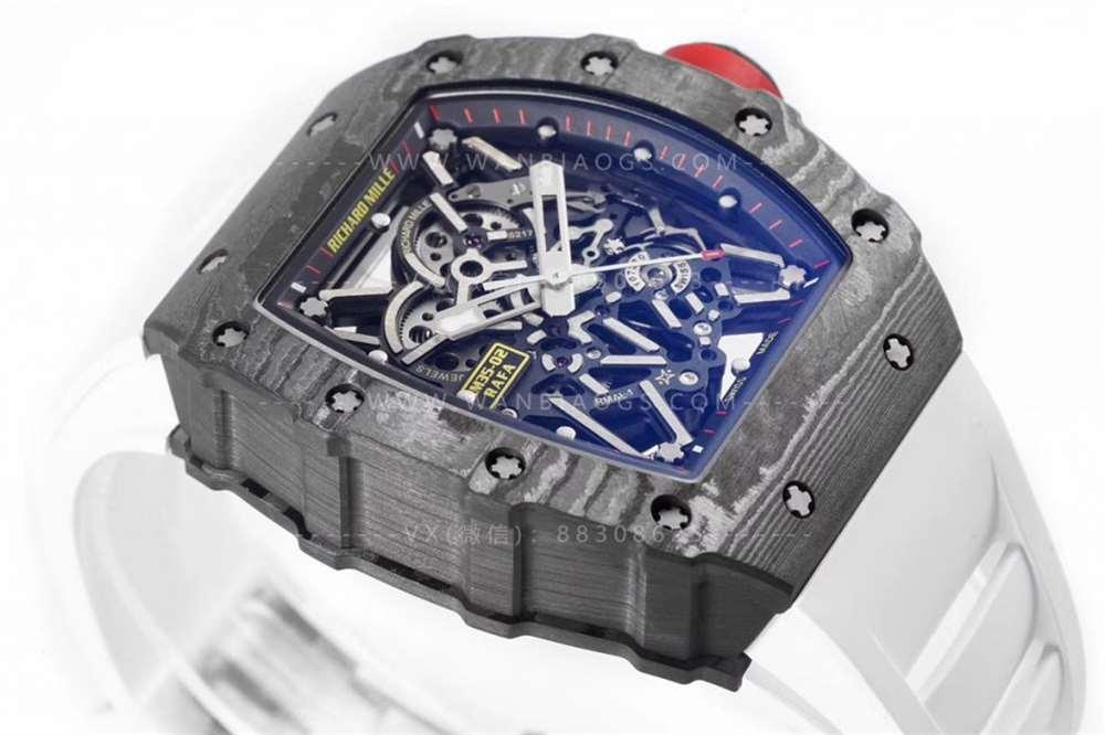 ZF厂理查德米勒V3版NTPT碳纤维RM35-02腕表评测
