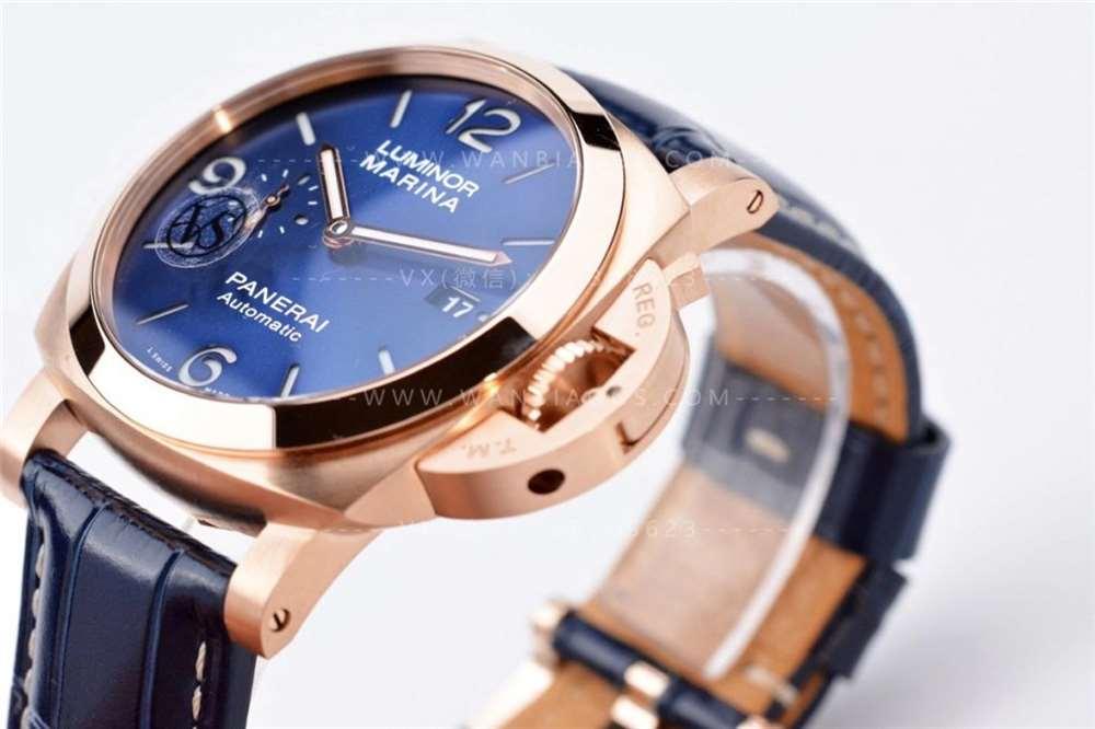 VS厂沛纳海01112「44毫米」庐米诺红金腕表评测