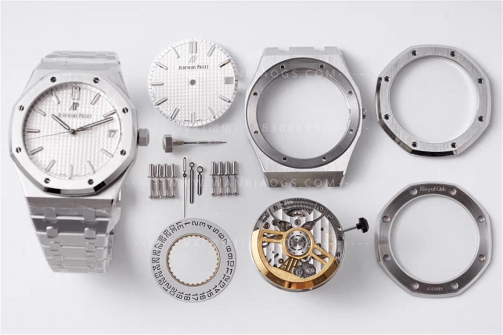 ZF厂爱彼15500白盘腕表做工评测