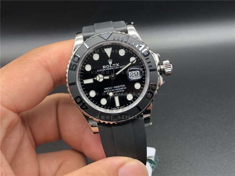 VS厂劳力士白金游艇42mm「3135机」腕表做工评测