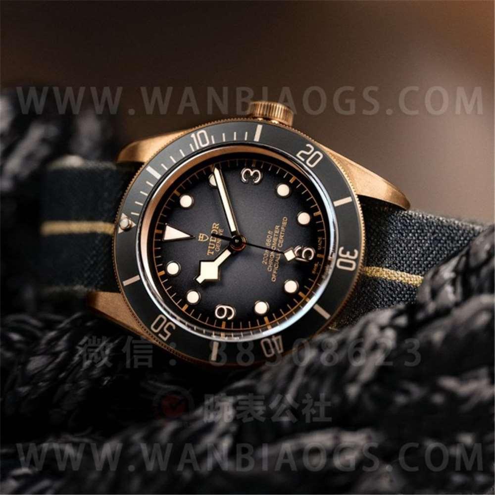 XF厂帝陀碧湾系列「石板灰」青铜腕表做工评测