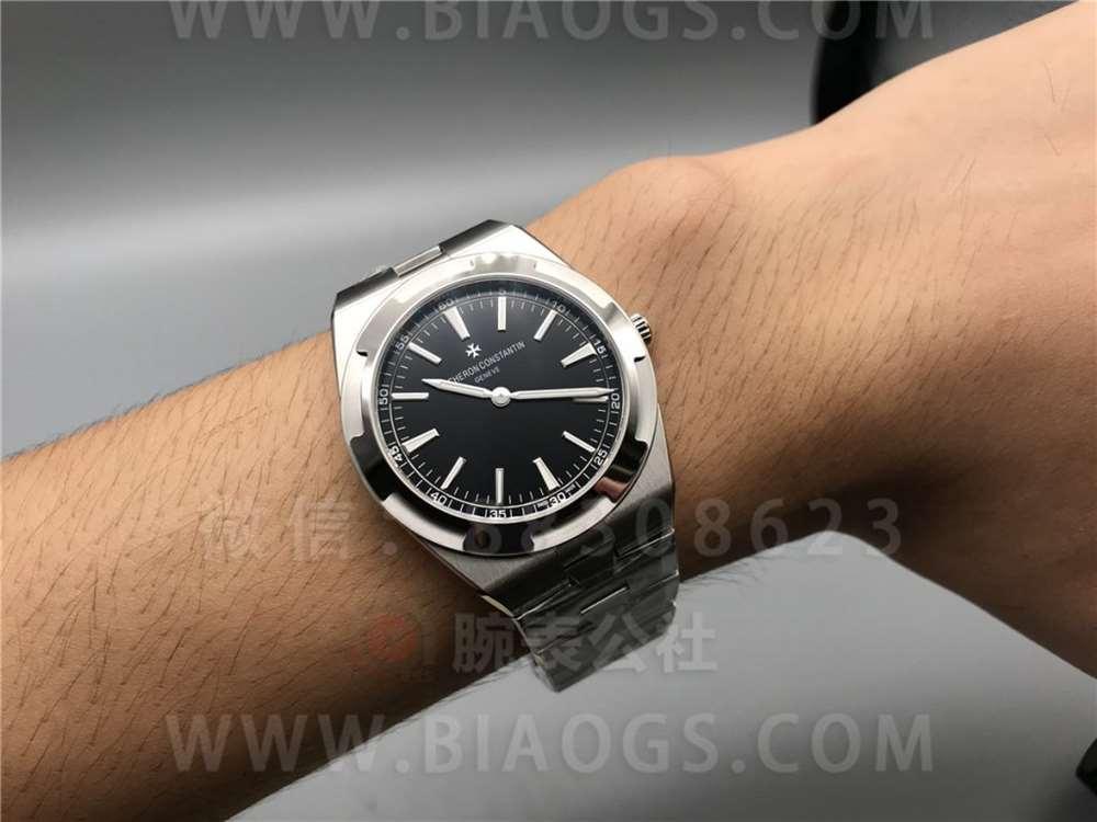 XF厂江诗丹顿纵横四海2000V超薄「黑盘」腕表做工评测