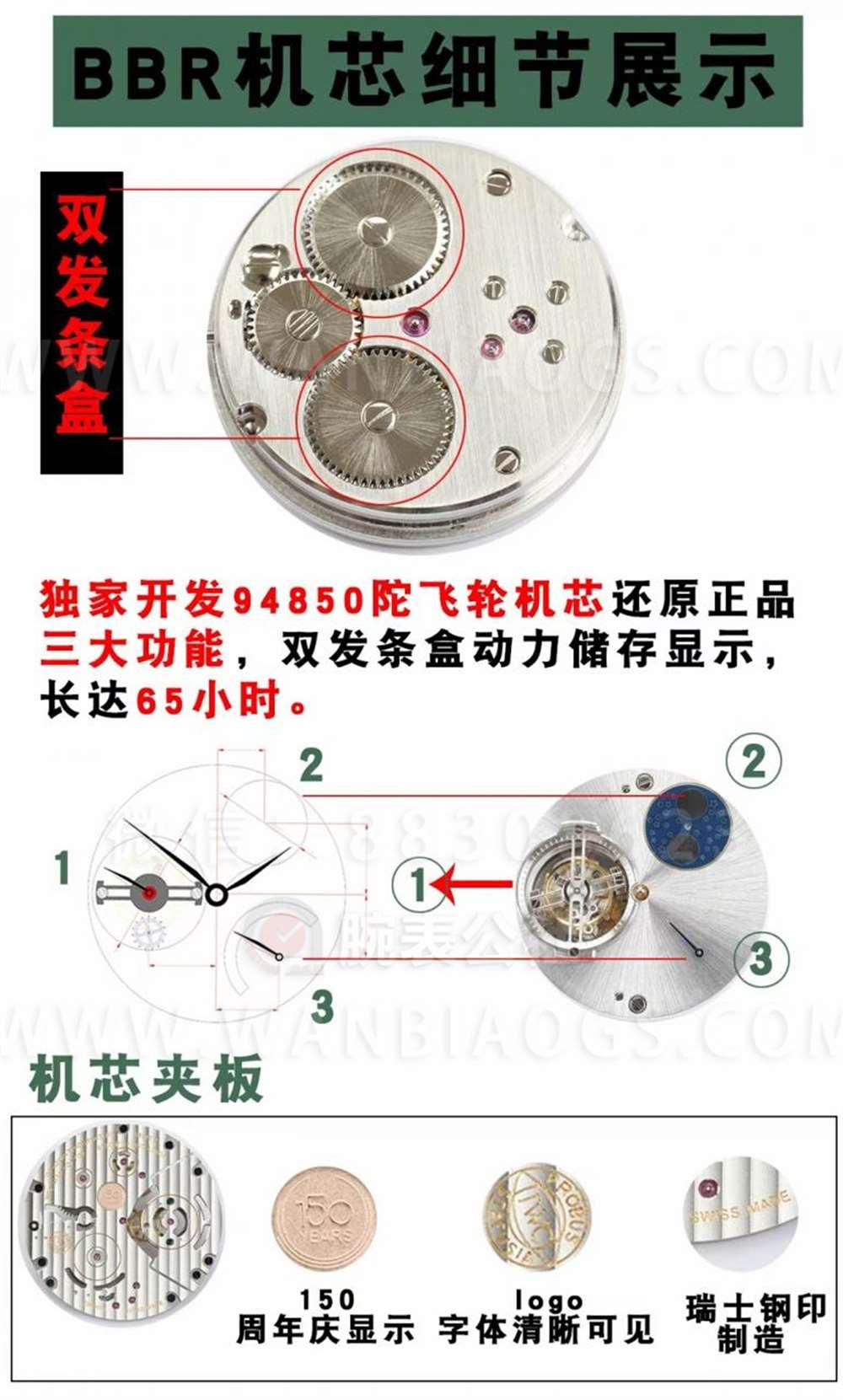 BBR厂万国恒定动力陀飞轮腕表深度评测