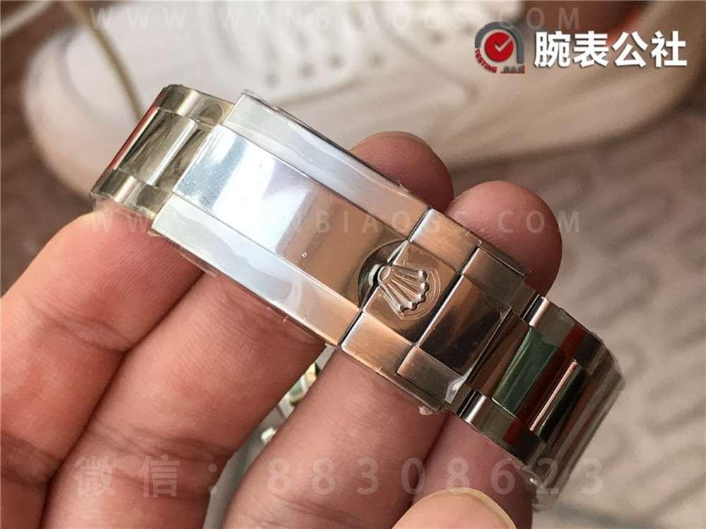 N厂劳力士V4版迪通拿116509「银盘红针款」做工评测